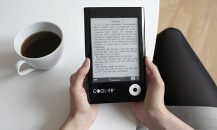 Cool-er book reader