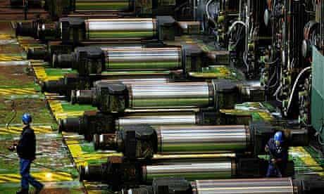 ArcelorMittal steelworks, Aceralia, northern Spain