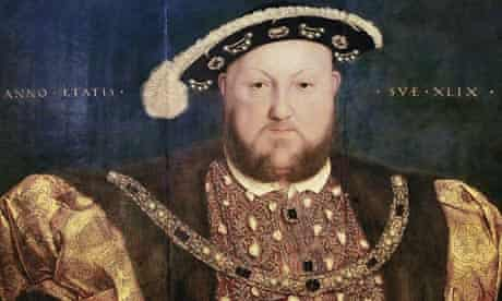 <Henry VIII> (1540) by Hans Holbein