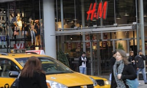 A graduate student discovered bags of cut up clothes from a New York H&M store.