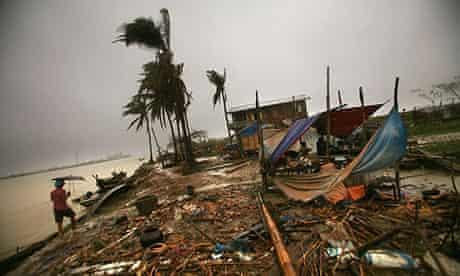 Cyclone nargis devastation