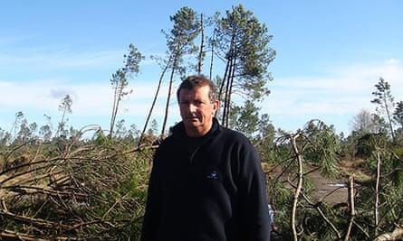 Michel Belliard france storm victim