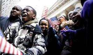 NY kids hail Obama