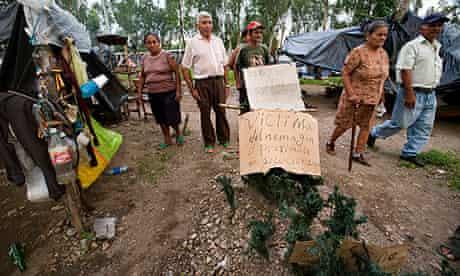 Nicaragua pesticide protests