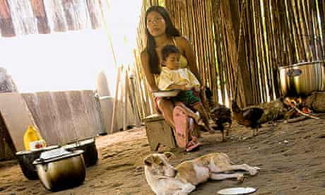 Amazonas villagers
