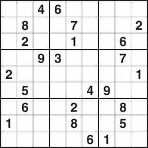 Sudoku 1558 medium