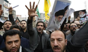 Pro-government demonstrations in Iran