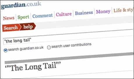 The long tail of search