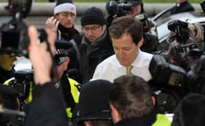 campbell at Iraq inquiry: Campbell arrives to give evidence to the Iraq Inquiry in London