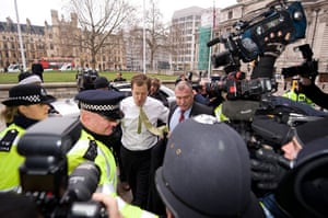 campbell at Iraq inquiry: Alastair Campbell at chilcot inquiry