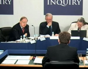 campbell at Iraq inquiry: Chilcot Iraq inquiry