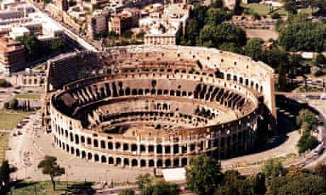 colosseum rome notes and queries