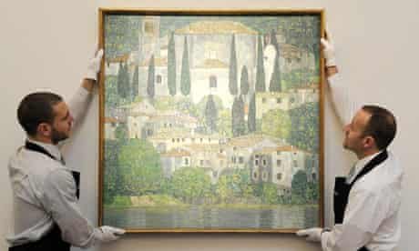 Gustav Klimt, Church in Cassone