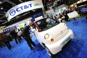 Green cars in Detroit: A journalist looks at the CT&T City EV eZone electric car