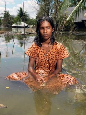 Sinking Sundarbans: Anjana Koya in the water