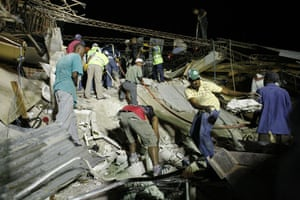 haiti update 2: Residents search for victims after an earthquake in Port-au-Prince
