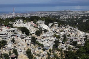 haiti update 3: A view of the Canape-Vert area after an earthquake in Port-au-Prince