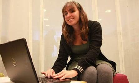 Mira Khoury is undertaking a virtual internship