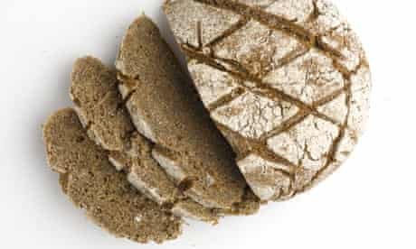 Cider rye bread