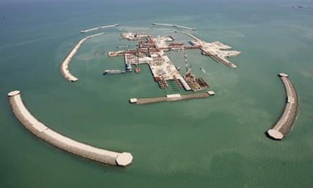 Kashagan offshore oil, Kazakhstan