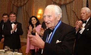 Sir Richard Doll receives Tyler Award