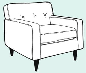 Make A Removeable Chair Or Sofa Cover Life And Style The Guardian