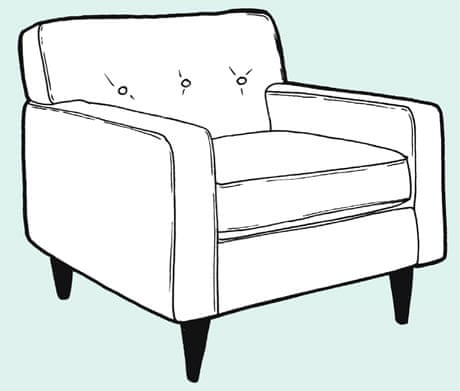 Make A Removeable Chair Or Sofa Cover Life And Style The