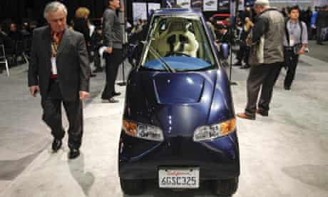 Commuter Cars Tango electric car