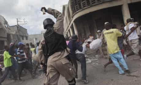 looters haiti