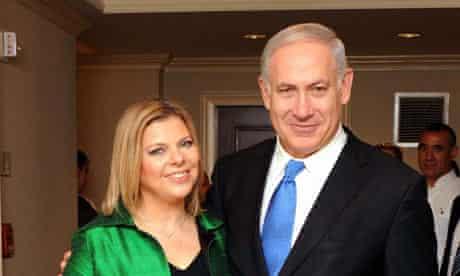 Binyamin Netanyahu and wife Sara