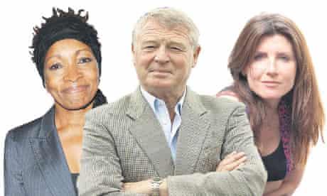 Bonnie Greer, Paddy Ashdown and Sharon Horgan