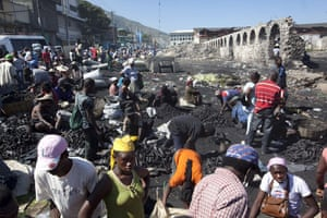 Haiti earthquake : Haiti earthquake devastation