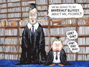19.01.10: Steve Bell on Tory plans to deter graduates with third-class degrees from entering teaching