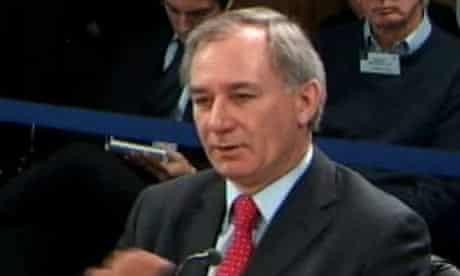 Geoff Hoon at the Iraq inquiry on 19 January 2010.
