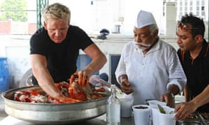 Will gordon ramsay make good his escape life and style the guardian gordon ramsay in india forumfinder Images