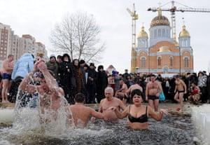 Orthodox Epiphany : UKRAINE-RELIGION-EPIPHANY