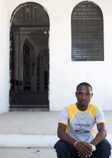 Junior Fleurimand, earthquake survivor, Port-au-Prince, Haiti