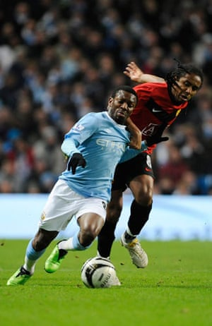 City v United: Wright-Phillips escapes from Anderson