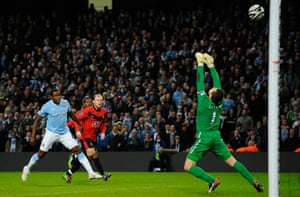City v United: Rooney is denied by Given yet again