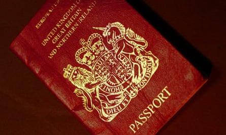 British EU passport