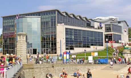 The Waterfront building on the seafront at Bournemouth