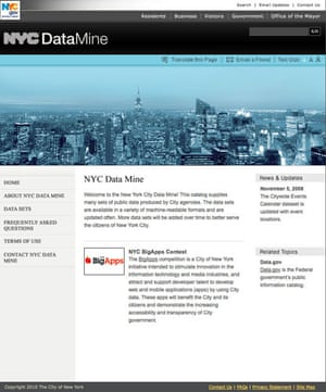 Official government data: New York data