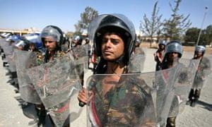 Yemeni security forces, January 2010
