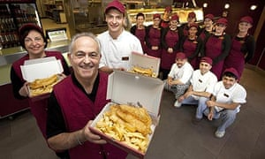 The Atlantic Fast Food fish and chip shop, crowned as the best in Britain