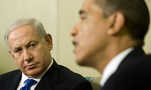 Barack Obama and Benjamin Netanyahu