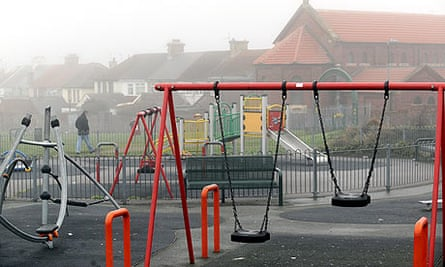The Edlington children's playground in Doncaster, where the brothers attacked two boys