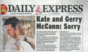McCann Express apology