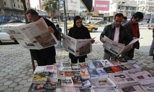 Iraqis read list of banned election candidates