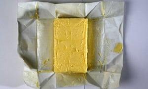 A block of butter