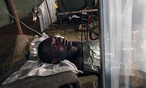 Haitian earthquake survivor Emmannuel Buso